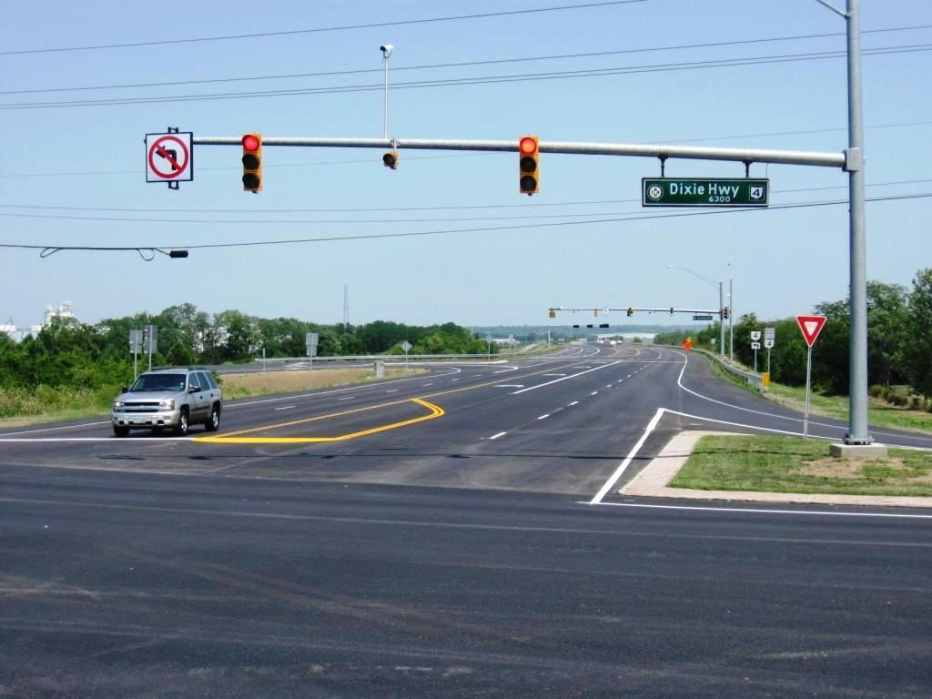 Finished: Bypass and Route 4 looking North