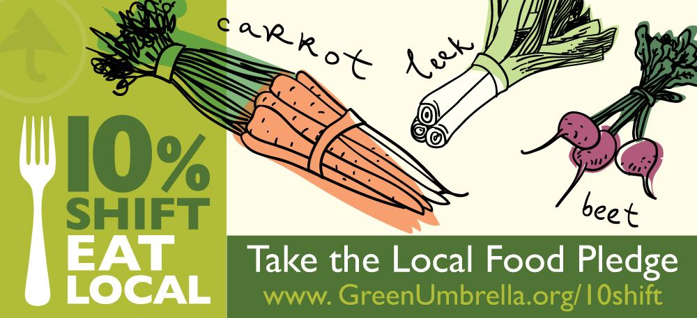 10% Shift Eat Local
